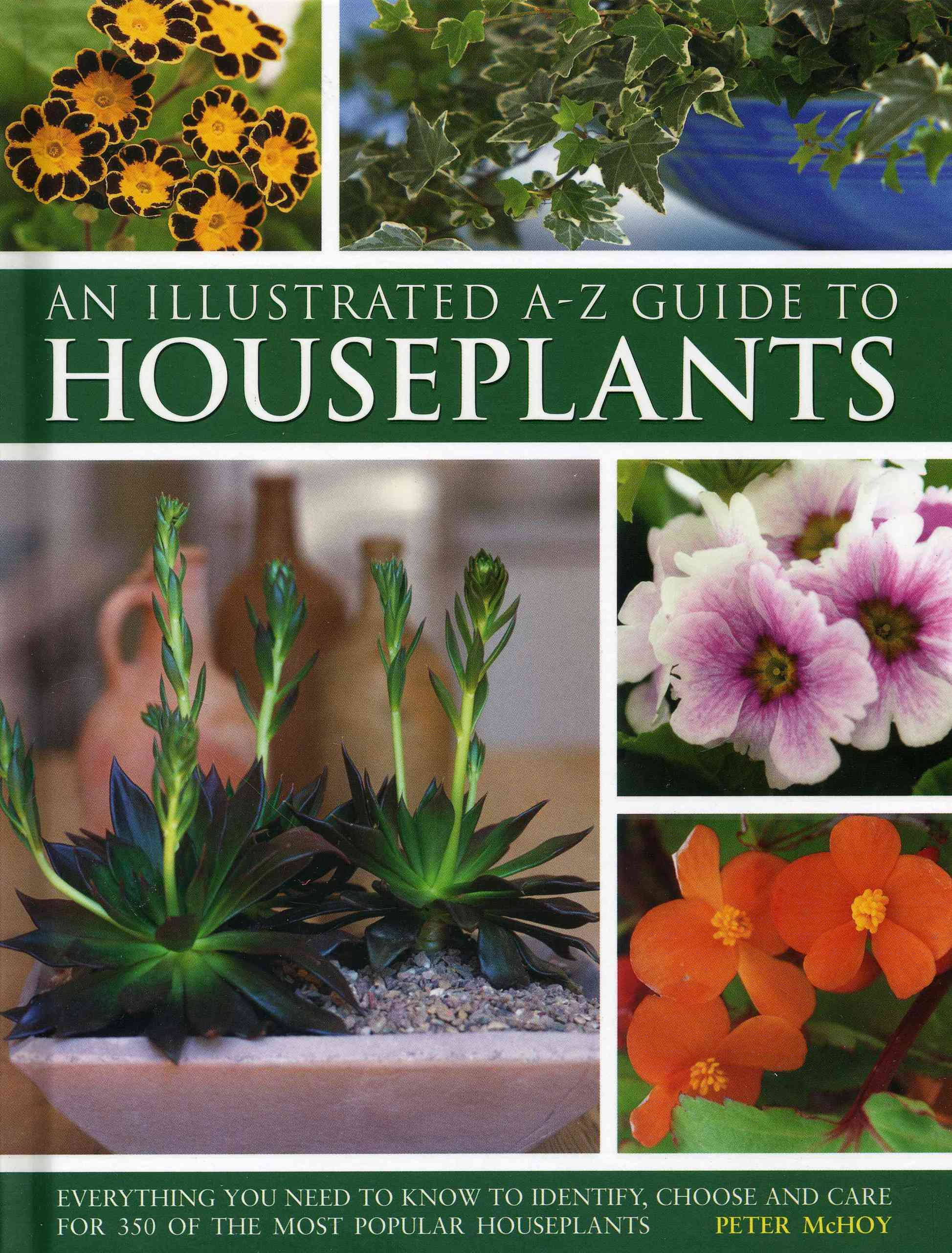 Illustrated A-Z Guide to Houseplants By McHoy, Peter